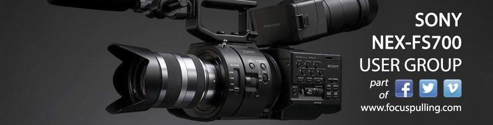 Sony NEX-FS700 Banner