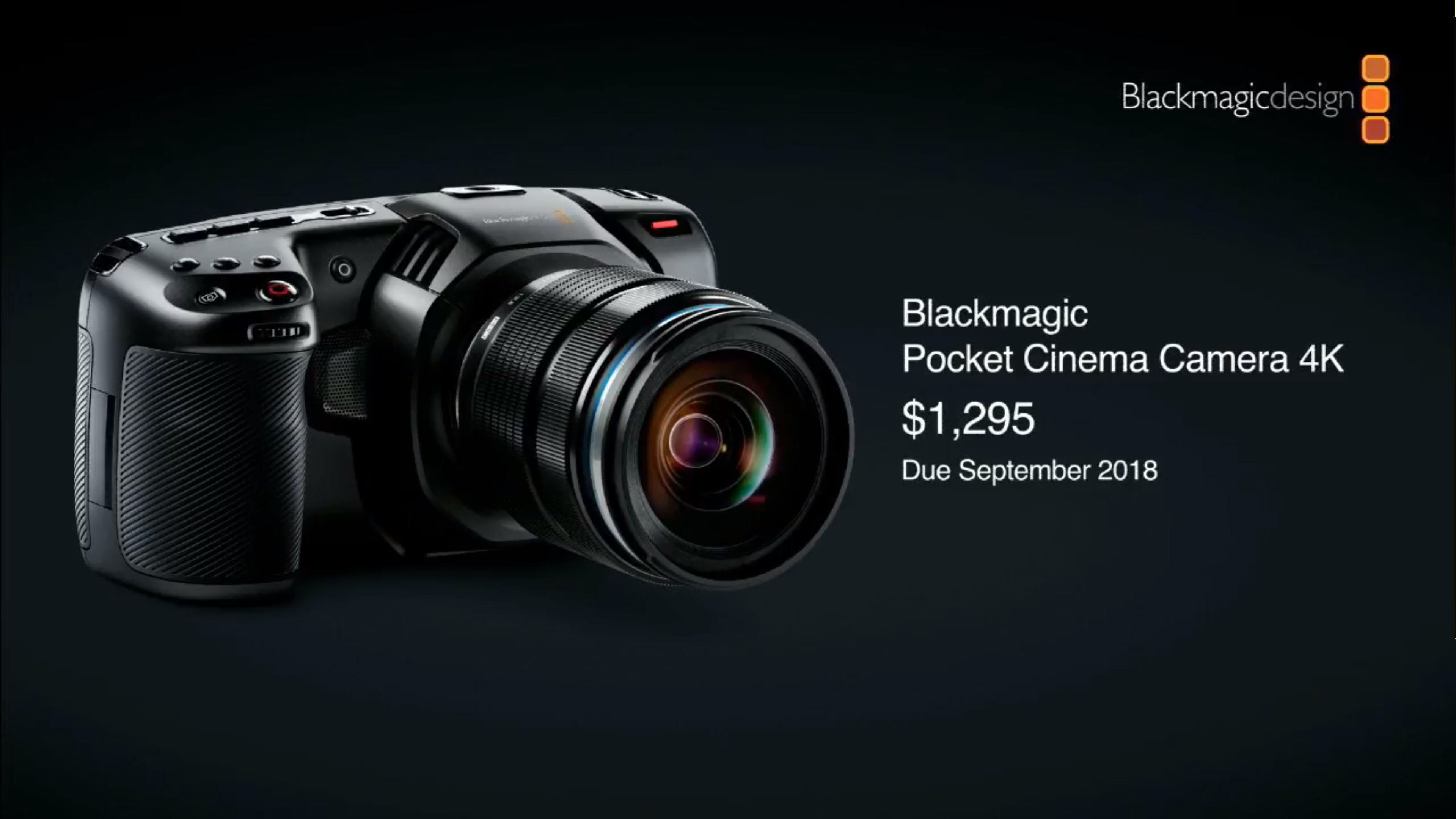 Blackmagic Pocket Cinema Camera 4K is here! | FocusPulling (.com)