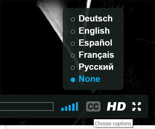 ENGLISH / FRENCH / GERMAN / SPANISH / RUSSIAN SUBTITLES